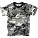 City Camouflage Kids Military Tactical T-Shirt