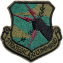 US Strategic Air Command Subdued Patch