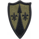 US Army Theater SPT CMD Europe Subdued Patch