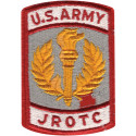 US Army JROTC Military Color Patch