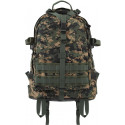 Woodland Digital Camouflage Military MOLLE Large Transport Assault Pack Backpack