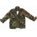 Woodland Camouflage Military M-65 Field Jacket