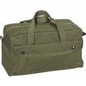 Olive Drab Military Mechanics Nylon Brass Zipper Tool Bag
