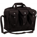 Black Heavyweight Canvas Medical Equipment Mag Bag