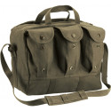 Olive Drab Heavyweight Canvas Medical Equipment Mag Bag