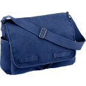 Blue Heavy Weight Classic Messenger Shoulder Bag