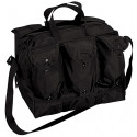 Black Heavyweight Nylon Medical Equipment Mag Bag
