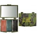 Woodand Camouflage Military Face Paint - 3 Colors