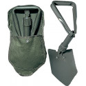 Olive Drab Tri-Fold Shovel With Cover