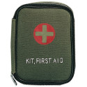 OIive Drab Zippered Red Cross Emergency First Aid Kit