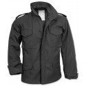 Black Military M-65 Field Jacket