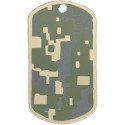 ACU Digital Camouflage Dog Tag