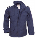 Navy Blue Military M-65 Field Jacket with Liner