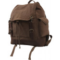 Brown Vintage Military Expedition Rucksack Backpack Bag