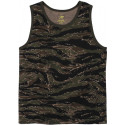 Tiger Stripe Camouflage Military Tank Top
