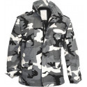 City Camouflage Military M-65 Field Jacket