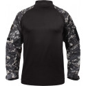 Subdued Urban Digital Camouflage Military Heat Resistant Tactical Lightweight Combat Shirt