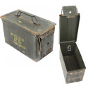 .50 Cal USED Metal Original US Military Surplus M2A1 Ammo Can