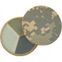 ACU Digital Camouflage All Purpose Compact Face Paint - 3 Colors