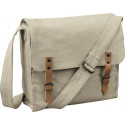 Khaki Vintage Military Canvas Medic Shoulder Bag