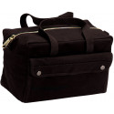 Black Military Mechanics Tool Bag w/ Brass Zipper