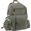 Olive Drab Vintage Military Canvas Jumbo Backpack