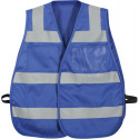 Blue Hi-Visibility Tactical Protective Safety Vests
