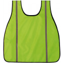 Neon Green High Visibility Oxford Safety Vest