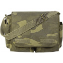 Woodland Camouflage Heavy Weight Classic Messenger Shoulder Bag