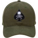 Olive Drab Military Death Spade Low Profile Adjustable Cap