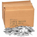Silver Genuine GI US Military P-38 Mil-J-0837 Can Openers (500 Pieces)