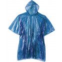 Blue Emergency Reusable Rain Poncho With Hood (20 Pack)