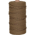 Coyote Brown 550LB Type III Nylon Paracord Rope Tube 300 Feet