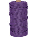 Purple 550LB Type III Nylon Paracord Rope Tube 300 Feet