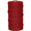 Red 550LB Type III Nylon Paracord Rope Tube 300 Feet