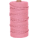 Rose Pink 550LB Type III Nylon Paracord Rope Tube 300 Feet