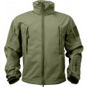 Olive Drab Military Special Operations Tactical Soft Shell Jacket