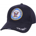 Navy Blue Genuine U.S. Navy Deluxe Low Profile Cap
