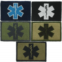 "Emergency Medical Technician Star Of Life EMT Patch 3"" x 2"""