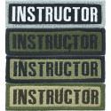 "Instructor Name Tape Hook & Loop Patch 4"" x 1"""