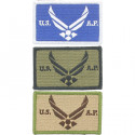 US Air Force Wings Logo USAF Hook Patch